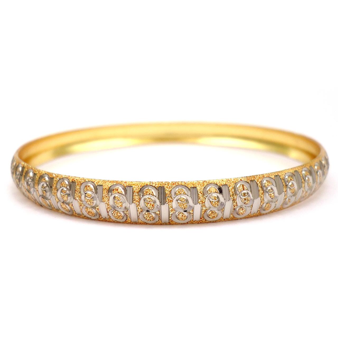 قیمت النگو زنانه آی جواهر مدل ماریا کد 11807AS3