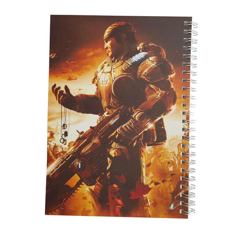 دفتر یادداشت طرح gears of war مدل BSB-00615