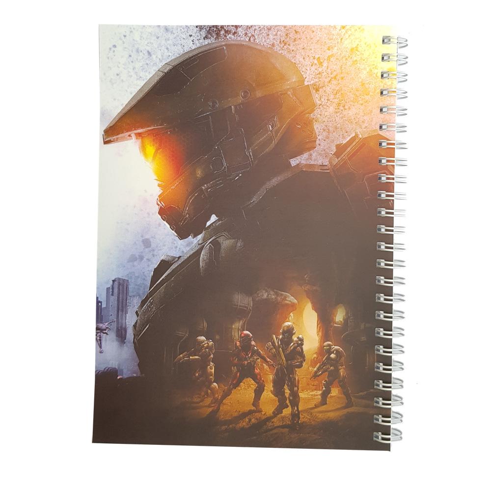 دفتر یادداشت طرح master chief2 مدل BSB-00617