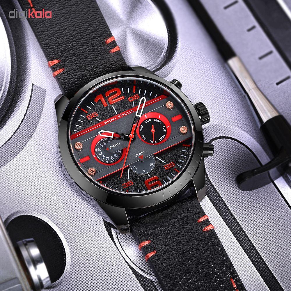 ساعت مچی عقربه ای مردانه مینی فوکوس مدل mf0068g.01