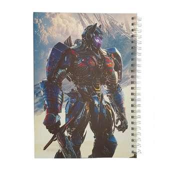 دفتر یادداشت طرح optimus prime مدل BSB-00620