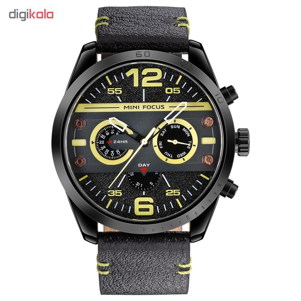خرید ساعت مچی عقربه ای مردانه مینی فوکوس مدل mf0068g.03