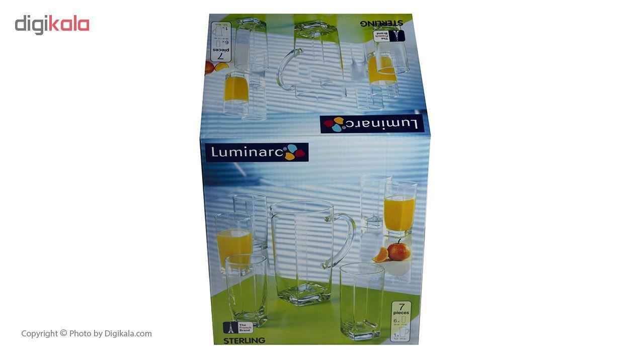 ست پارچ و لیوان 7 پارچه لومینارک مدل S100 main 1 8