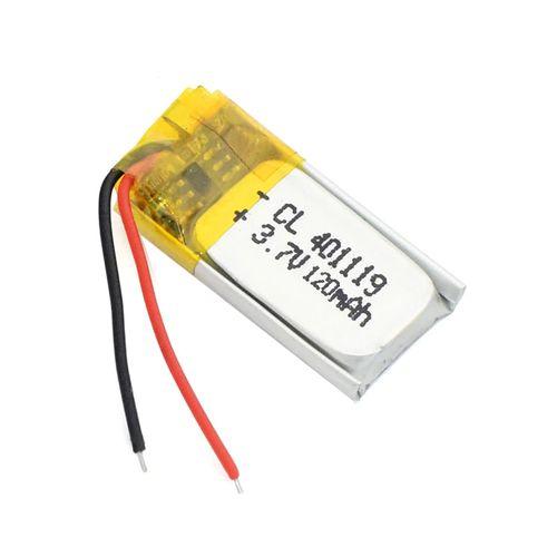 باتری لیتیومی کد 401119 ظرفیت 120 میلی آمپر ساعت