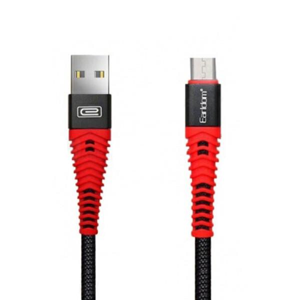 کابل تبدیل USB به microUSB ارلدام مدل EC-060M طول 1 متر