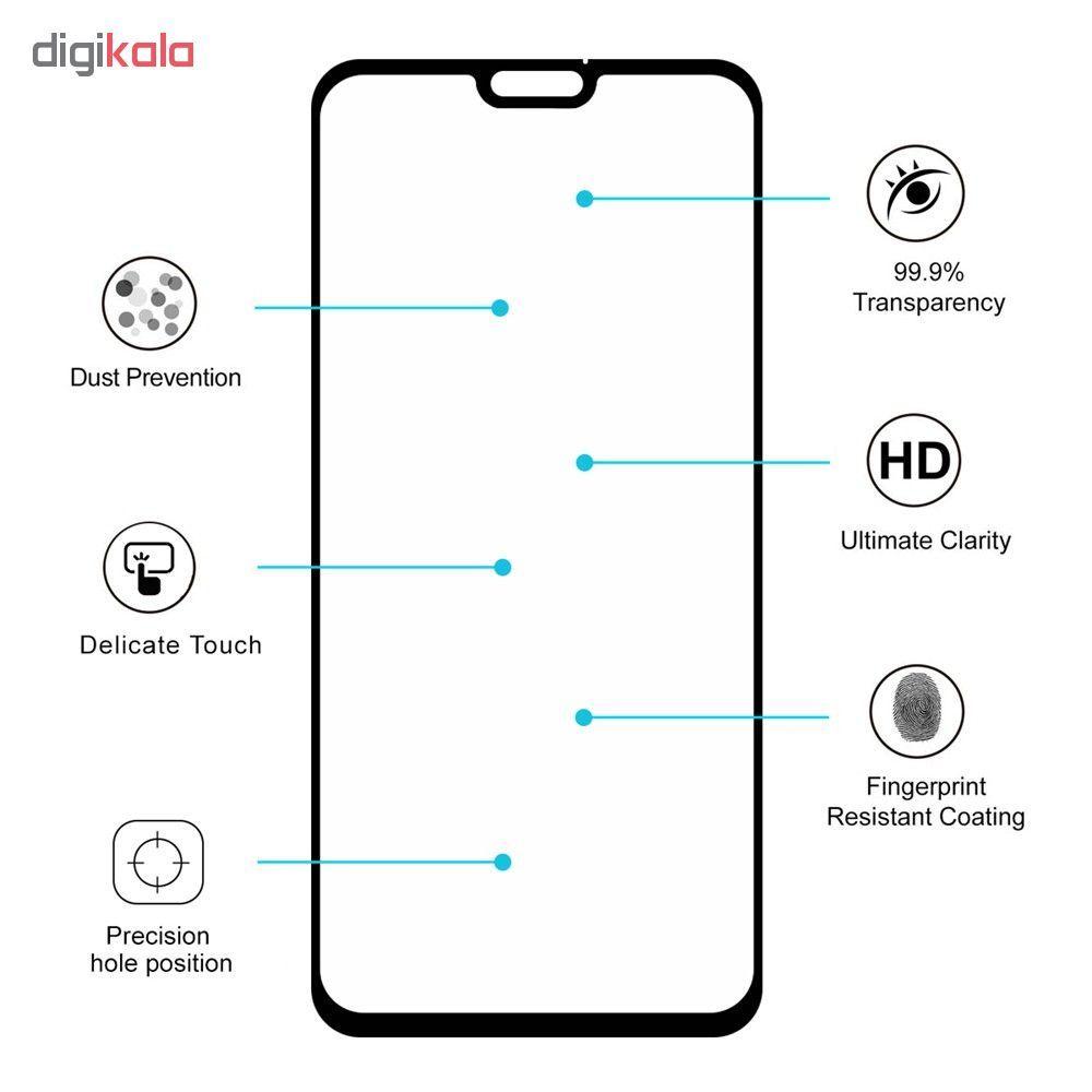 محافظ صفحه نمایش 6D اسپایدر مدل SH23 مناسب برای گوشی موبایل هوآوی Honor 8X main 1 8