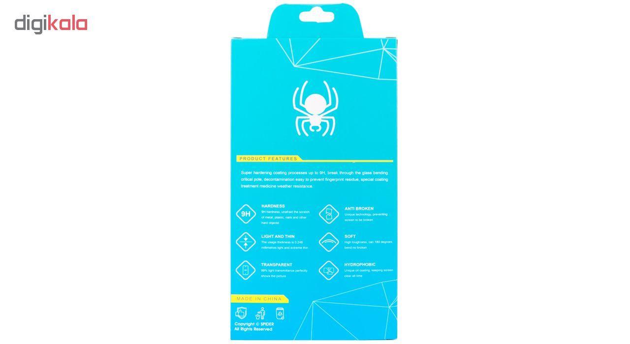 محافظ صفحه نمایش 6D اسپایدر مدل SH23 مناسب برای گوشی موبایل هوآوی Honor 8X main 1 9