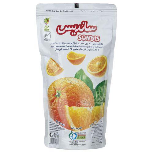 نوشیدنی بدون گاز پرتقال ساندیس مقدار 240 گرم