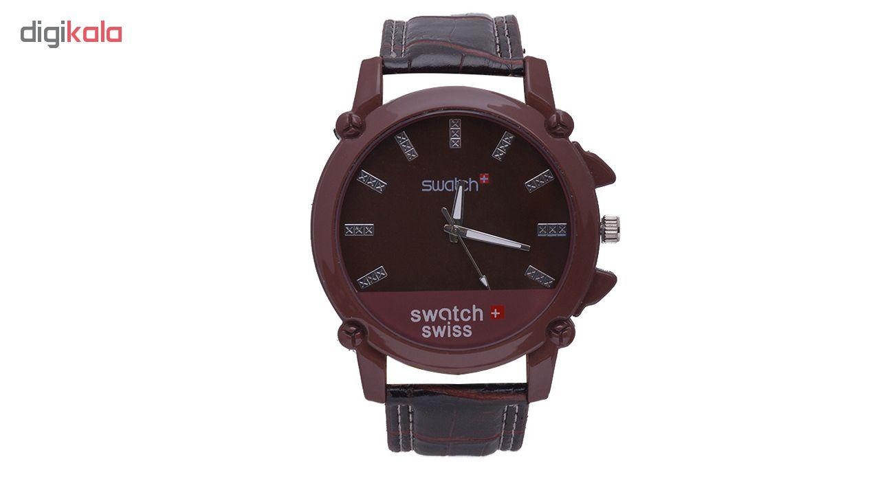 خرید ساعت مچی عقربه ای مردانه مدل Sw-Br