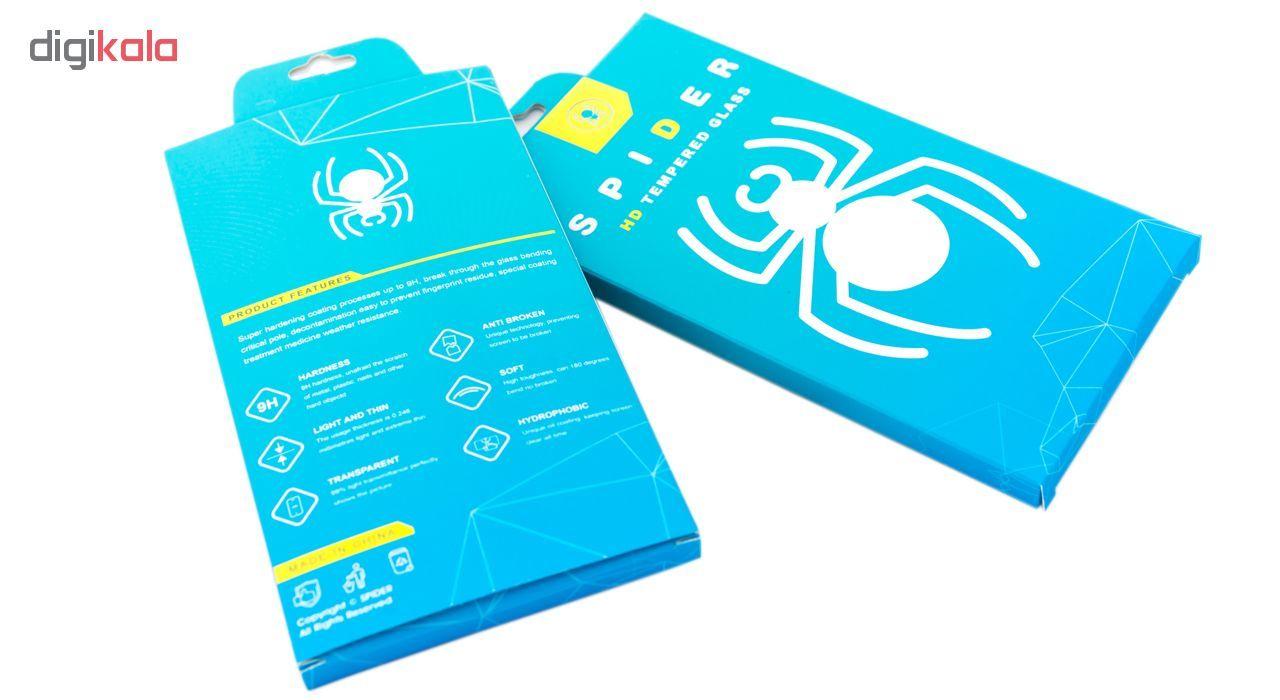 محافظ صفحه نمایش 6D اسپایدر مدل SH23 مناسب برای گوشی موبایل سامسونگ Galaxy A50 main 1 2