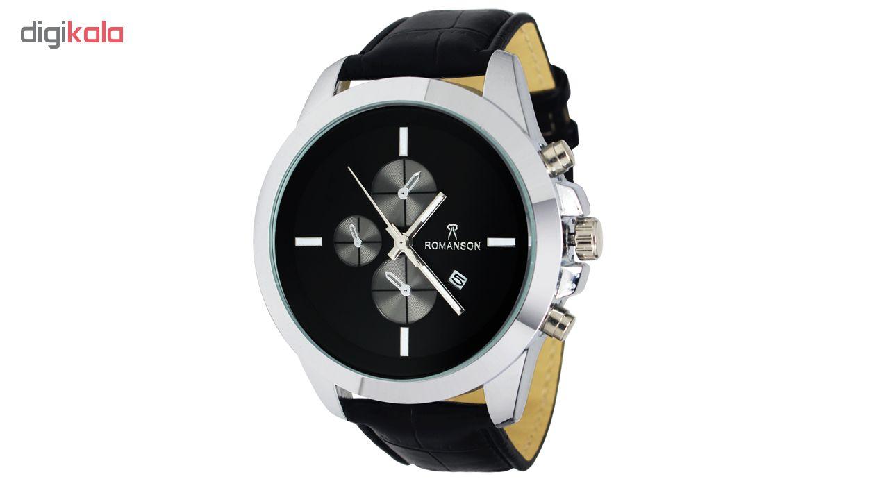 خرید ساعت مچی عقربه ای مردانه مدل Rom-04