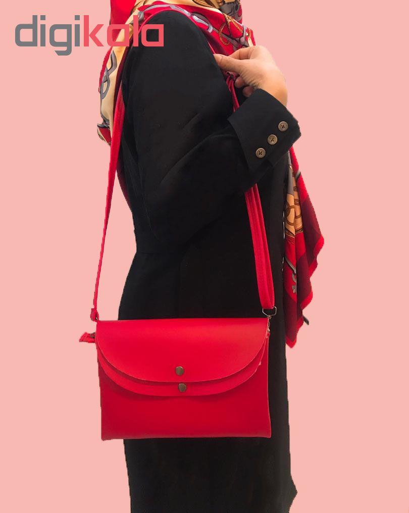 کیف رو دوشی زنانه مدل 0101