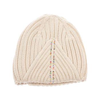 کلاه زنانه تارتن مدل 0580 رنگ کرم