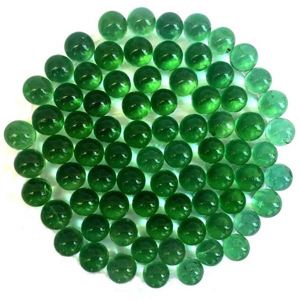 تیله مدل سبز بسته 35 عددی