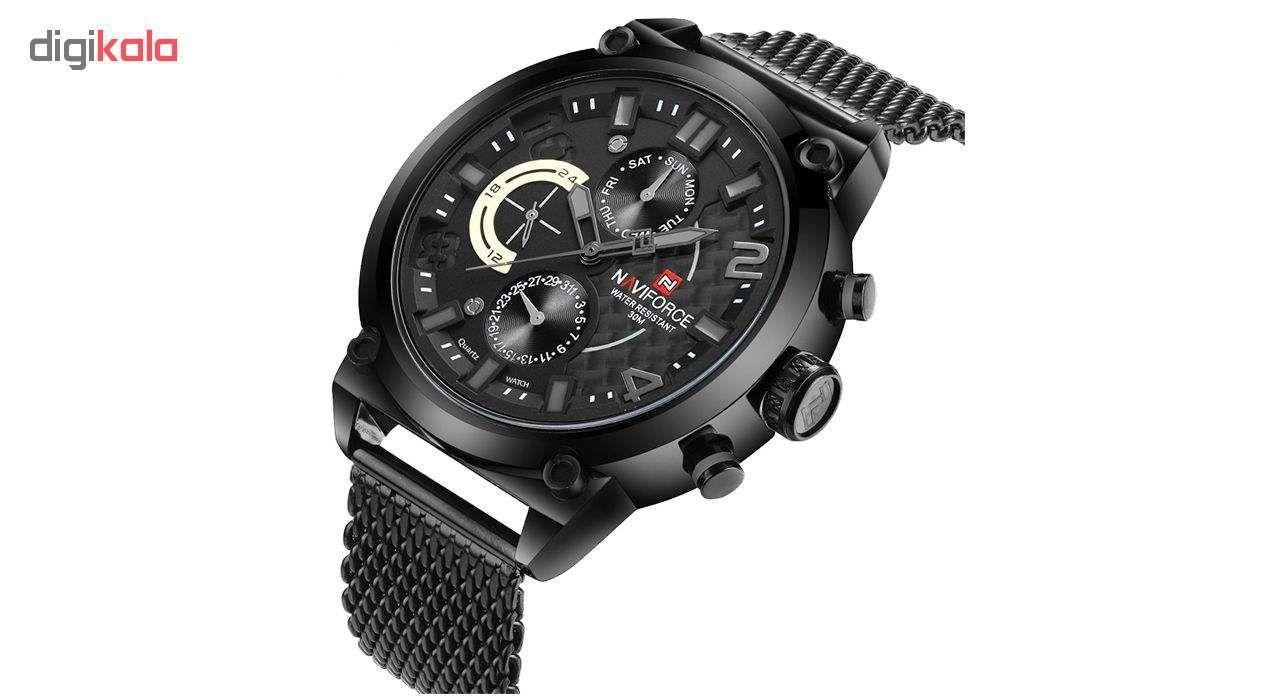 ساعت مچی عقربه ای مردانه نیوی فورس مدل NF9068M / MMZ