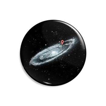 پیکسل ماسا دیزاین طرح فضا کهکشان لکیشن کد AS274