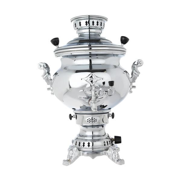 سماور گاز سوز پلور کد H81 ظرفیت 6 لیتر