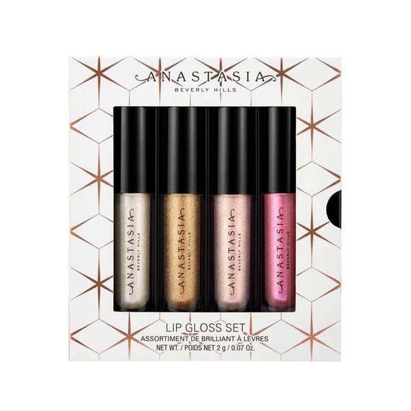 رژلب مایع آناستازیا مدل lip gloss set مجموعه 4 عددی