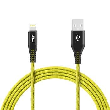 کابل تبدیل USB به لایتنینگ آیفون آی ماس مدل Armor tough طول 1.8 متر