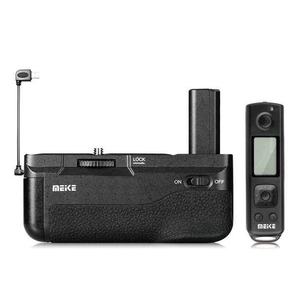 گریپ باتری دوربین مایک مدل Pro مناسب برای دوربین سونی 6400 به همراه ریموت بی سیم