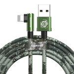 کابل تبدیل USB به لایتنینگ باسئوس مدل BC12 طرح Camoufage طول 2 متر thumb