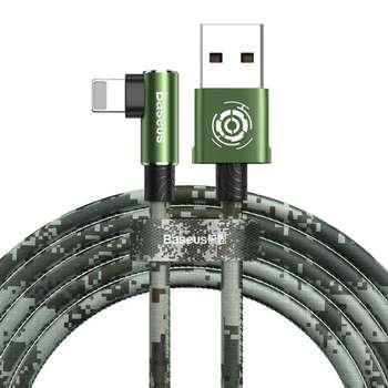 کابل تبدیل USB به لایتنینگ باسئوس مدل BC12 طرح Camoufage طول 2 متر