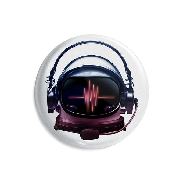 پیکسل ماسا دیزاین طرح فضانورد موزیک هدفون کد AS384