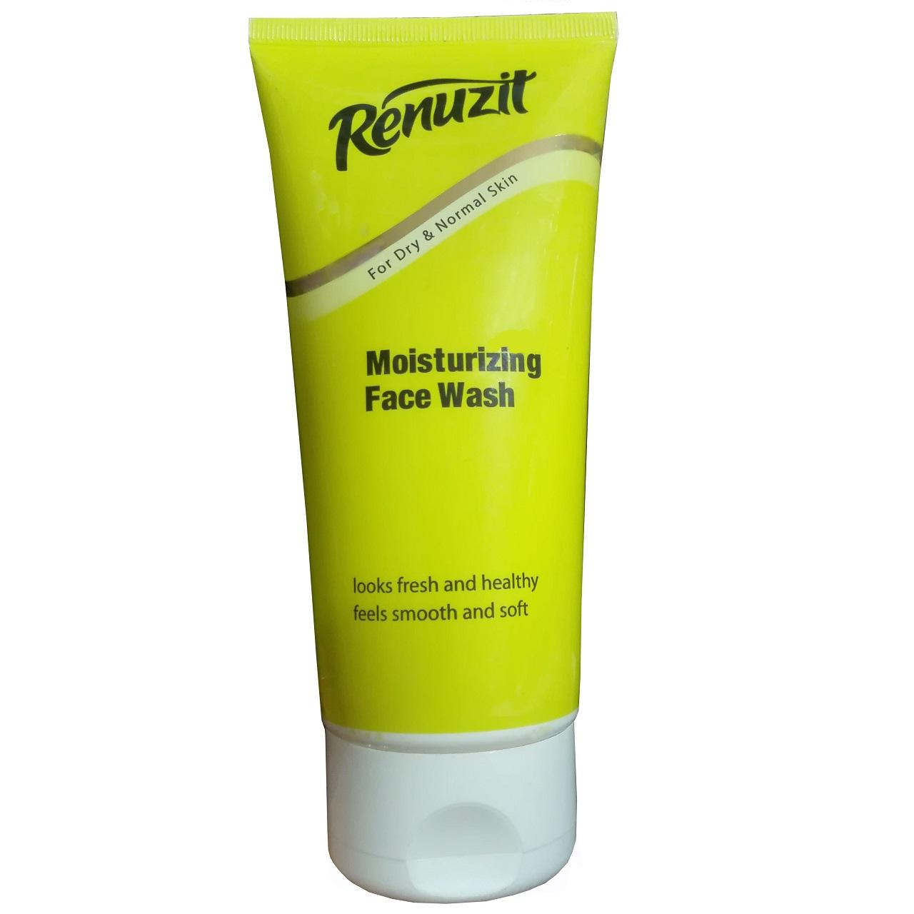 ژل پاک کننده آرایش صورت رینوزیت مدل Dry and Normal حجم 200 میلی لیتر / زرد