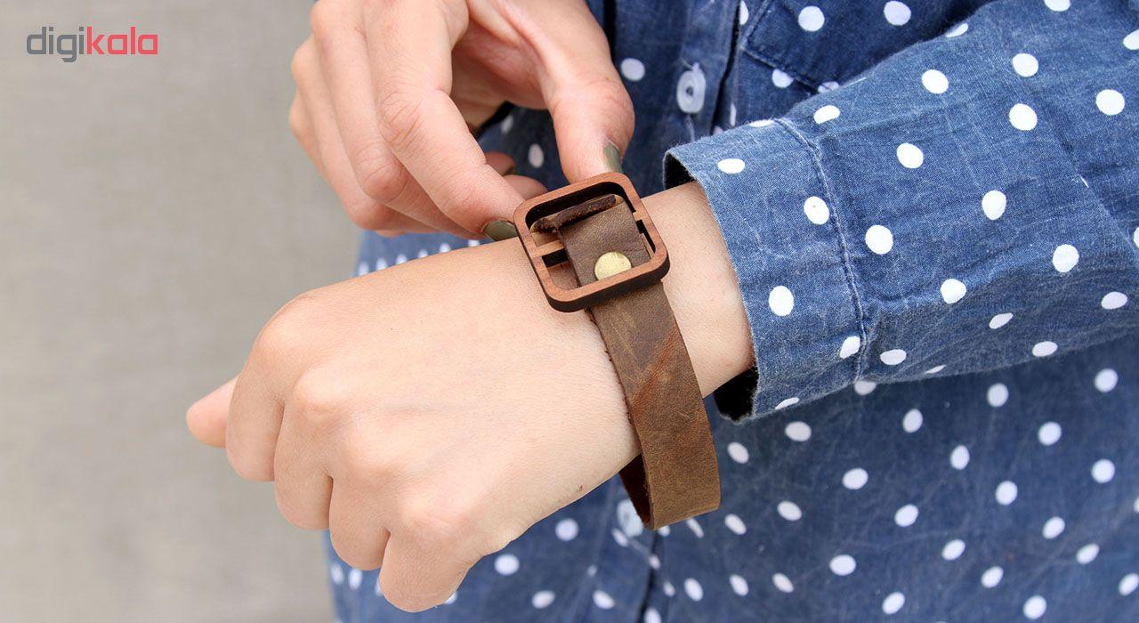 دستبند چرم لانکا مدل BB-8
