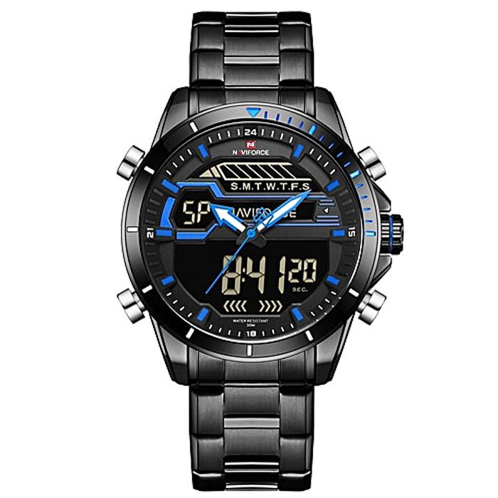 ساعت مچی عقربه ای مردانه نیوی فورس مدل NF9133M / ME-AB 17