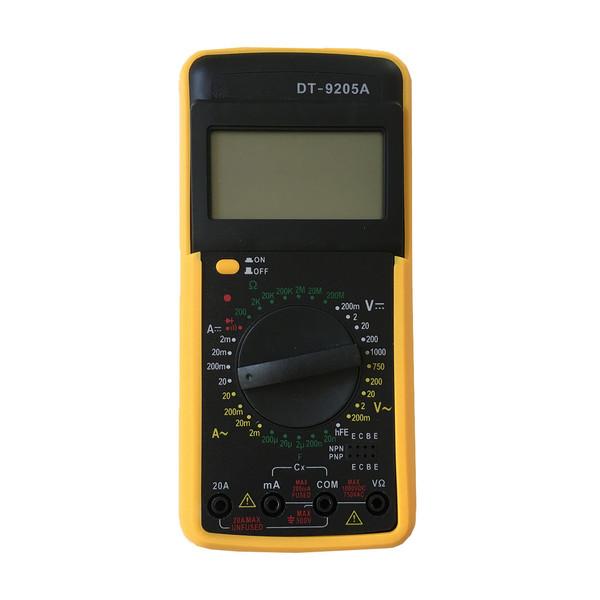 مولتی متر مدل DT9205A کد 09876