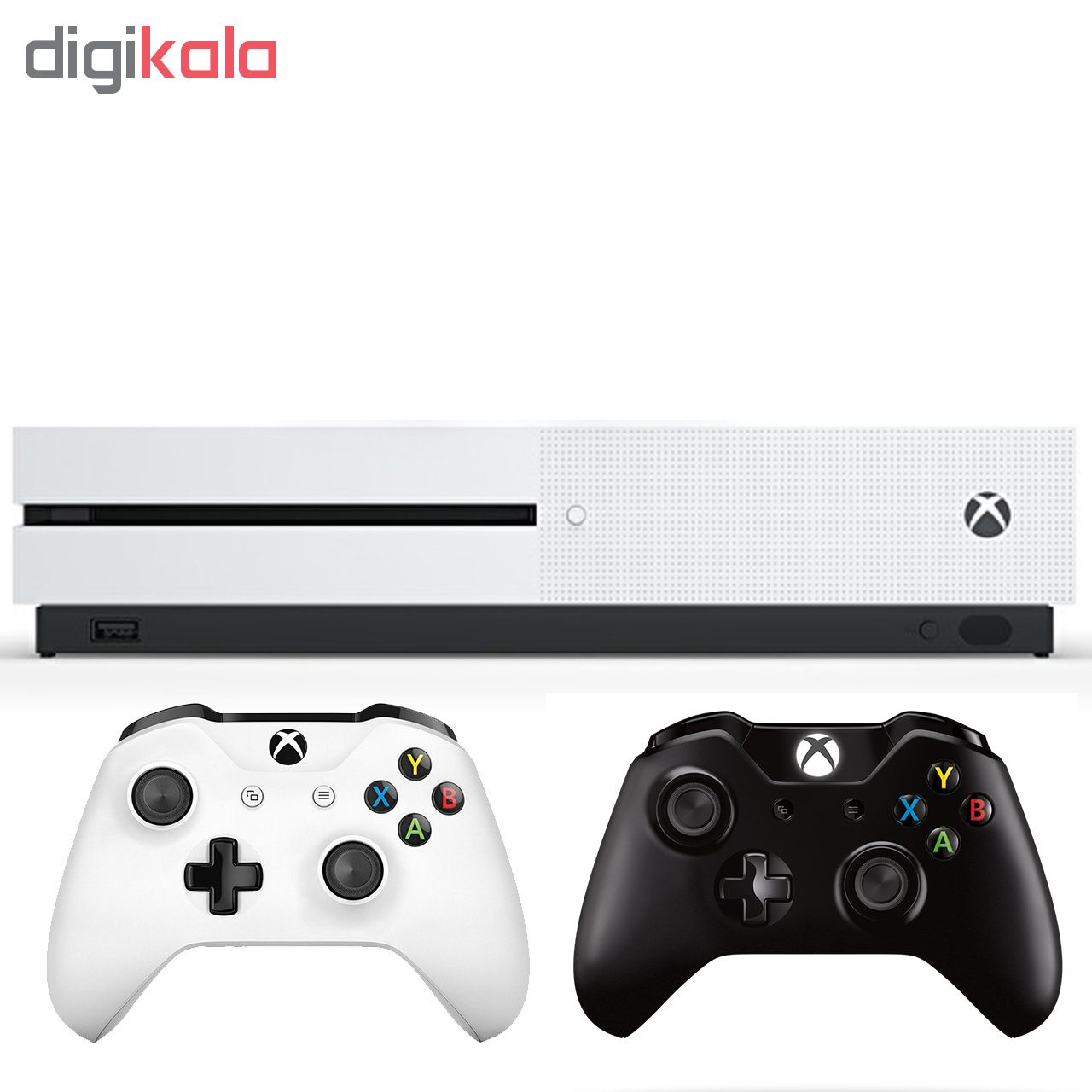 مجموعه کنسول بازی مایکروسافت مدل Xbox One S ظرفیت 1 ترابایت