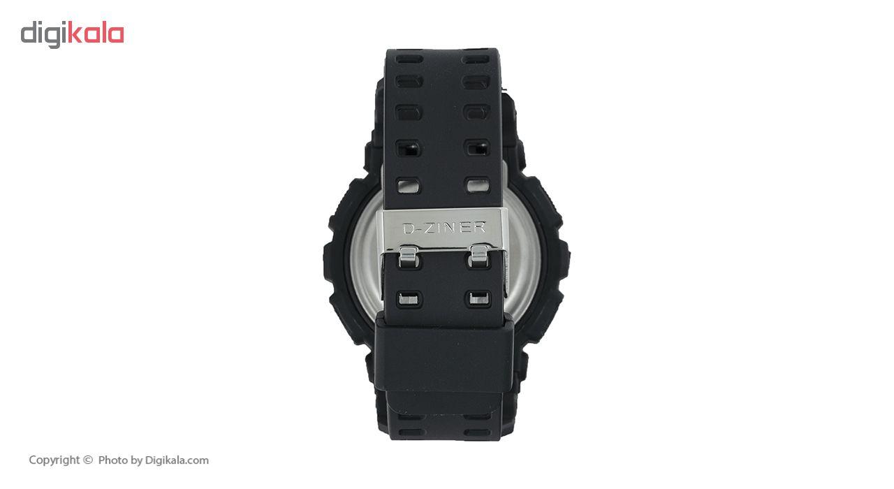 ساعت مچی عقربه ای مردانه دیزاینر مدل D-Z7001