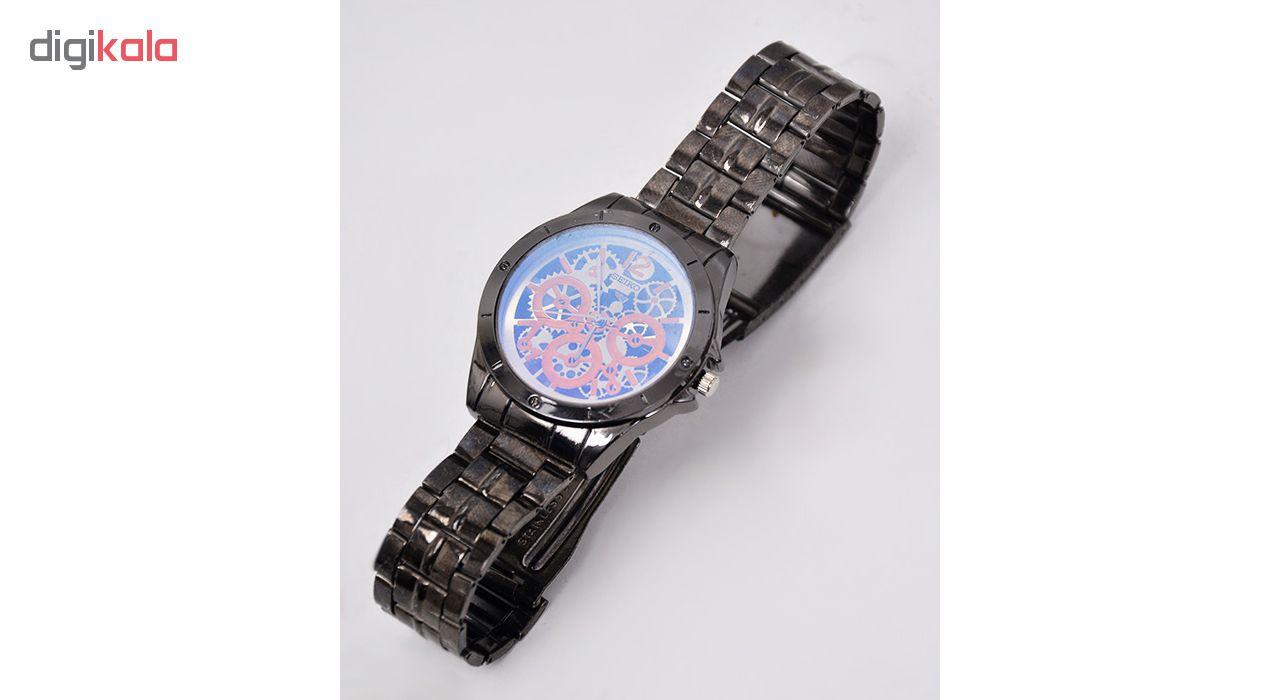 کد تخفیف                                      ساعت مچی عقربه ای مردانه مدل Sk-Dar-Bk                     غیر اصل