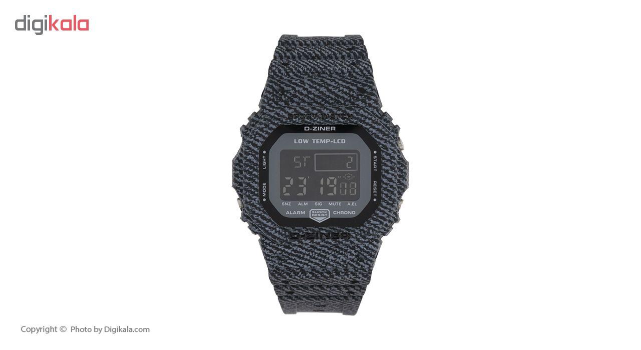 ساعت مچی دیجیتال دیزاینر مدل D-Z7047