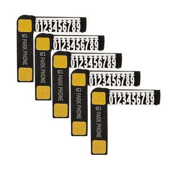 شماره تلفن مخصوص پارک خودرو مدل kh5 بسته 5 عددی