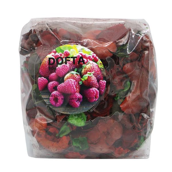 گل خشک معطر ایکیا مدل Dofta رایحه توت های قرمز شیرین با اشاره کوچک از گل