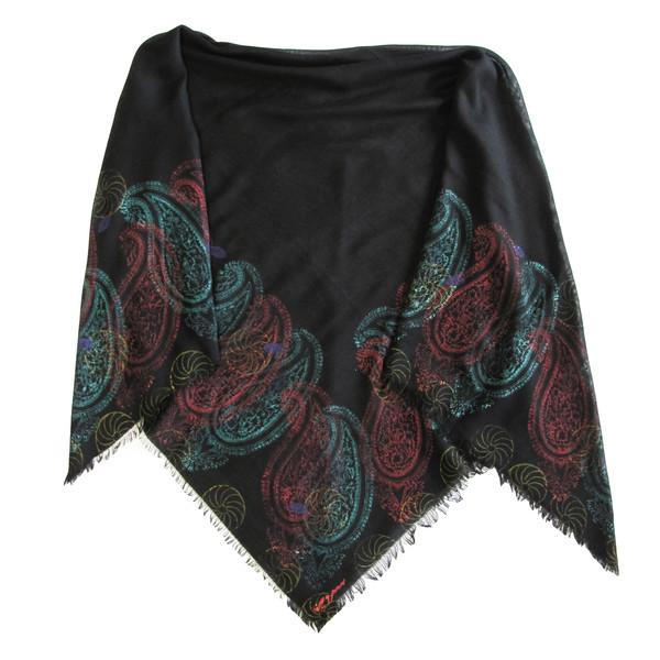روسری سروین مدل زورق  کد SZO108