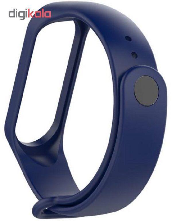 بند مچ بند مدل mi band3 siliconi  مناسب برای مچ بند شیائومی 3 main 1 11