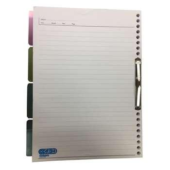 کاغذ کلاسور کپیتال مدل چکان بسته 100 عددی