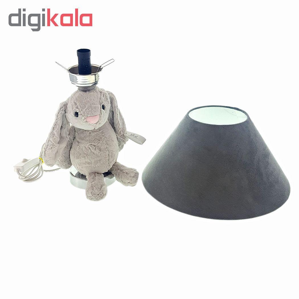 آباژور اتاق کودک طرح خرگوش جلی کت main 1 14