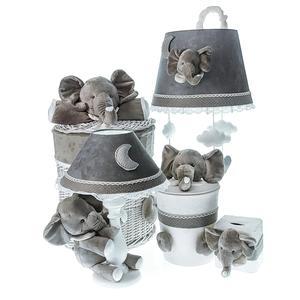 سیسمونی تزئیناتی اتاق کودک طرح فیل مجموعه 5 عددی