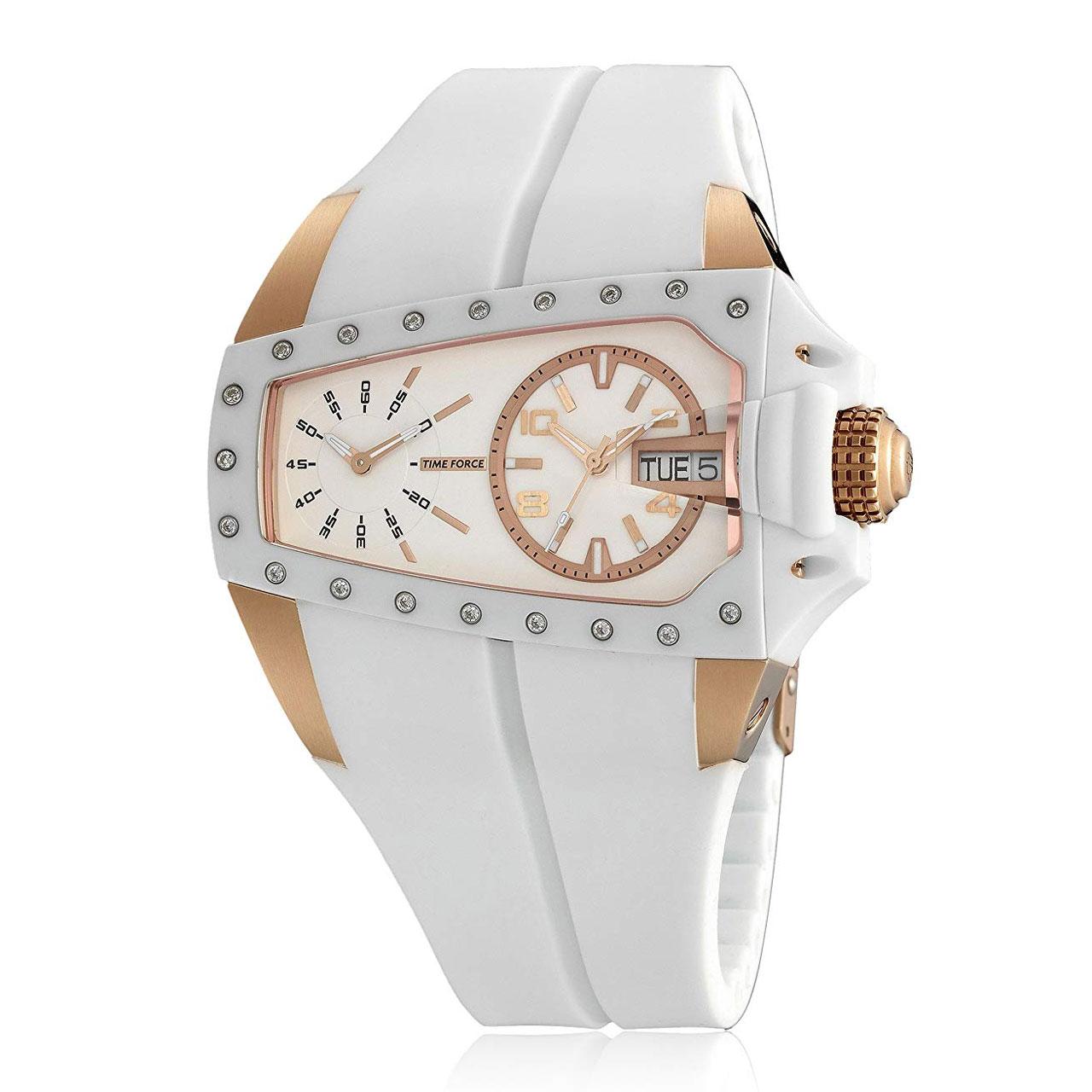 خرید ساعت مچی عقربه ای زنانه تایم فورس مدل TF3130L11