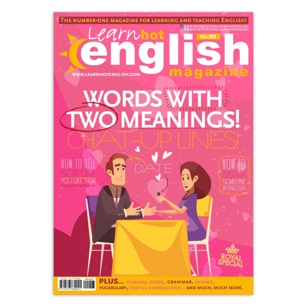 مجله Learn Hot English شماره 203 آوریل 2019
