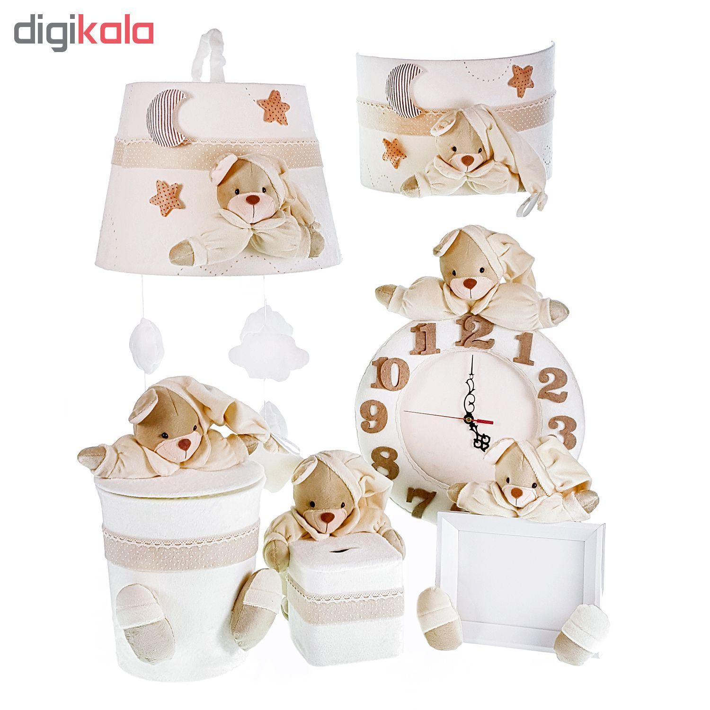 سیسمونی تزئیناتی اتاق کودک طرح خرس نان main 1 1