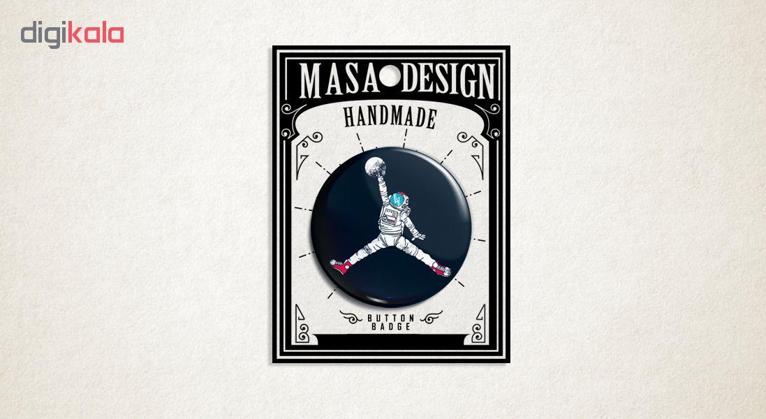 پیکسل ماسا دیزاین طرح فضانورد جردن بسکتبال کد AS424