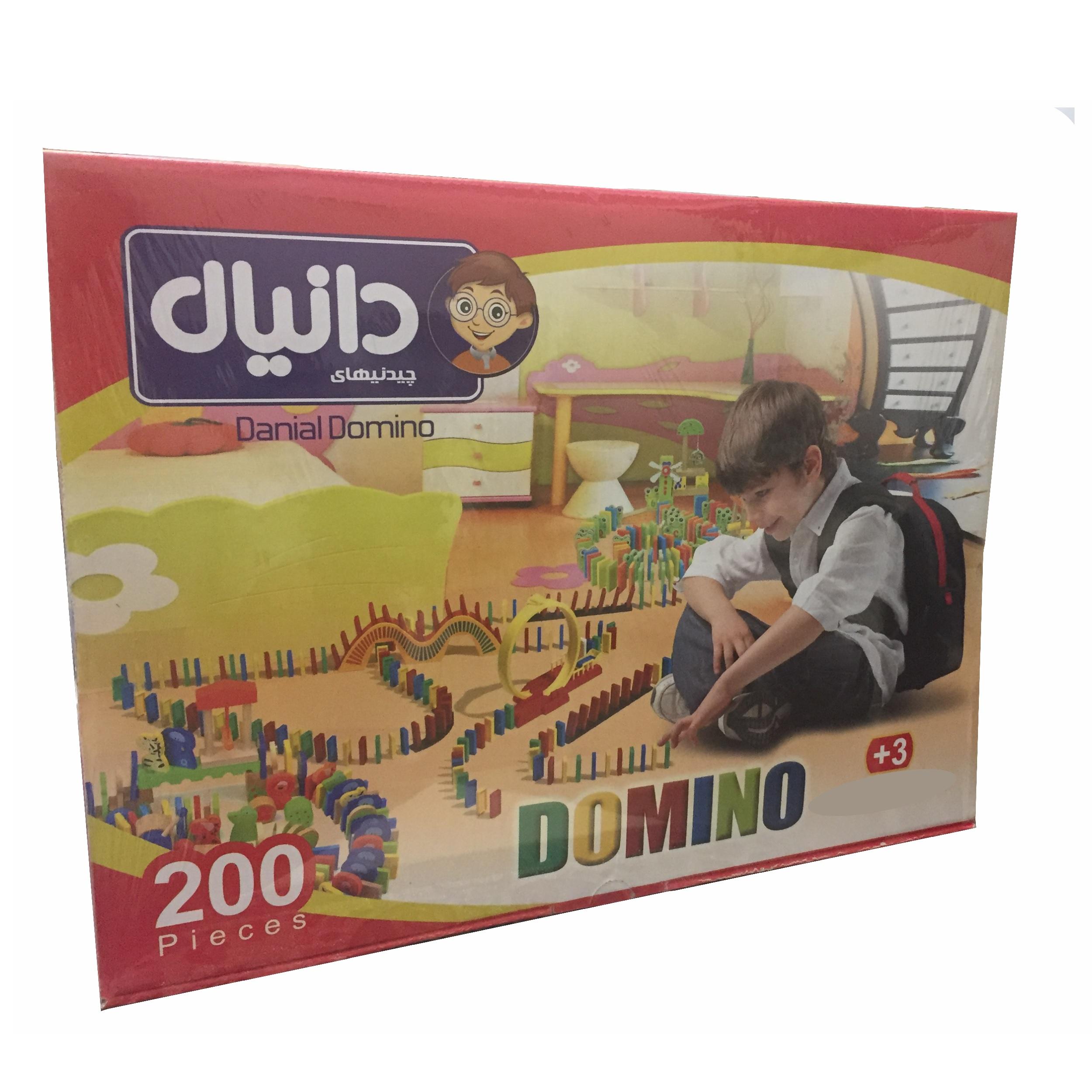 بازی فکری چیدنیهای دانیال طرح دومینو کد 200