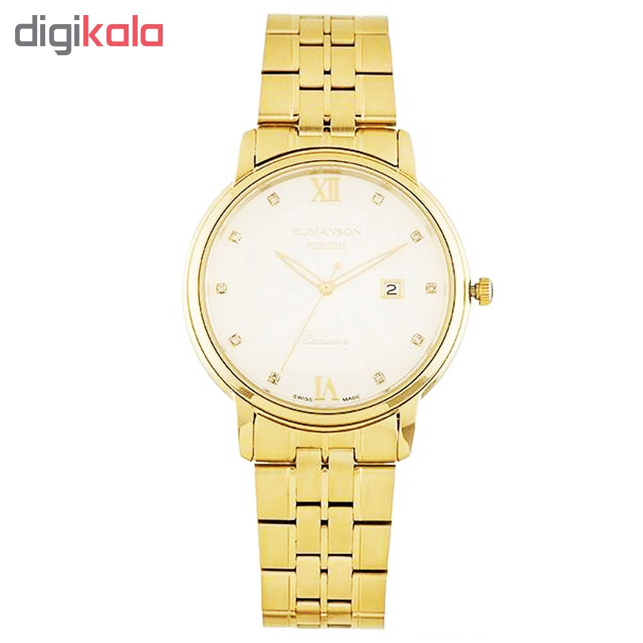 کد تخفیف                                      ساعت مچی عقربه ای مردانه رومانسون مدل TM3257MM1GAS1G