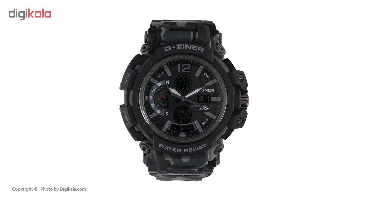 خرید ساعت مچی عقربه ای مردانه دیزاینر مدل D-Z7049