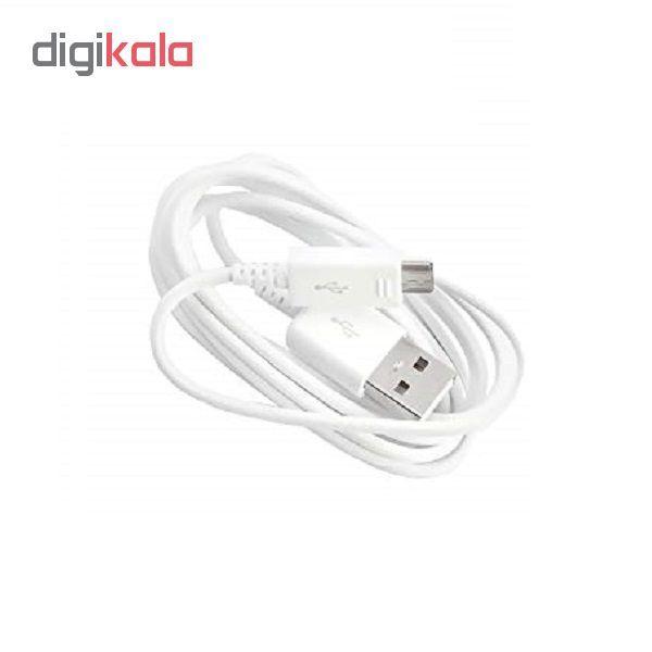 کابل تبدیل USB به microUSB کد 45874 فست شارژ طول 1.2 متر به همراه مبدل otg main 1 2